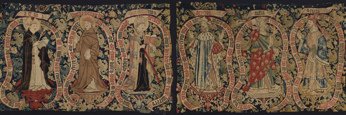 Allegorical Tapestry with Sages of the Past, ca. 1480–1500
