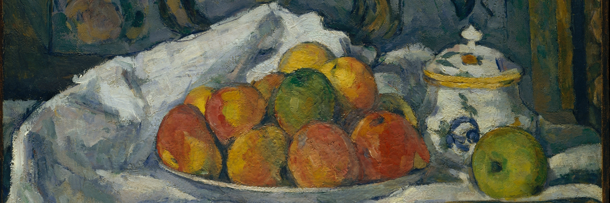 Dish of Apples, ca. 1876–77 Paul Cézanne