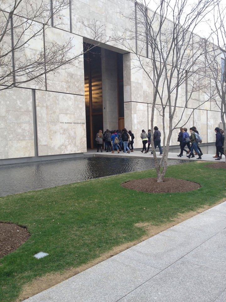 RAHSA and the Art History Department travel to the Barnes Collection in Philadelphia PA 2014